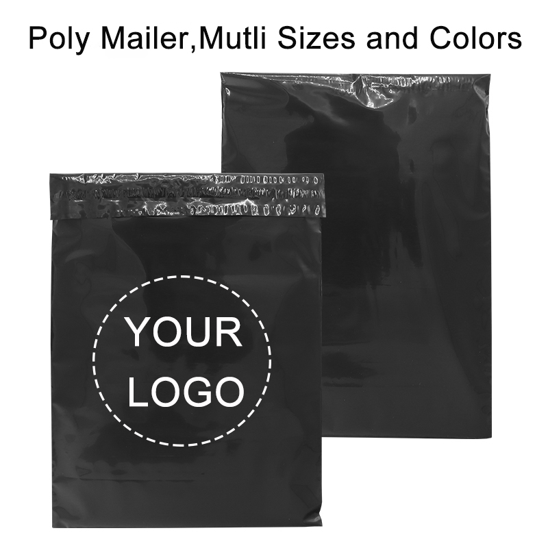 50pcs/Lot Plastic Mailer Envelope Bags Courier Bag Poly Shipping Mailing Colorful Packaging Parcel Storage Custom Logo Brand Bag