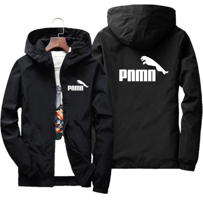 Plus Size S-7XL Spring Autumn Jacket Men Thin Windbreaker jaqueta masculina Slim Fit Young Men Hooded bomber jacket men 3