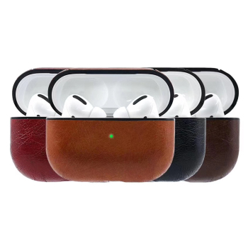 PU Leather Case For AirPods Pro Case Coque Earpods Cover For Airpod Pro Cover For