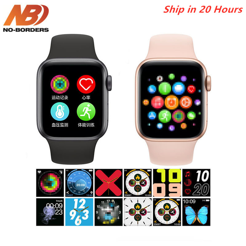IWO 13 T500 Smartwatch Series 5 Bluetooth Call 44mm Heart Rate Monitor Blood Pressure Smart Watch For Apple Android PK IWO Max