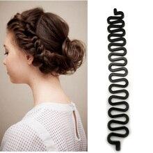 1pc Women Hair Braiding Accessories Fish Bond Waves Braider