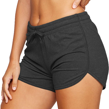 Women´s Shorts Ladies Summer Casual Females Sports Shorts Lace-up Run Bike Loose Pockets Solid Shorts Hot Fitness Gym Wear Running & Yoga Sports & Entertainment Sports and Outdoor Women Sportswear Yoga Pants Yoga Shorts Color: A Size: M