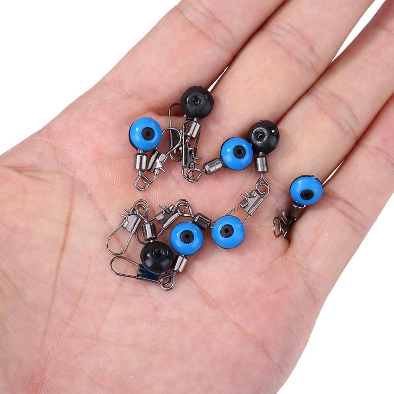 10/20pcs Sea Saltwater Fishing Floating Bobber Wear-resistant Space Bean Fish Rod Connectors Stops Fishing Tackle Parts