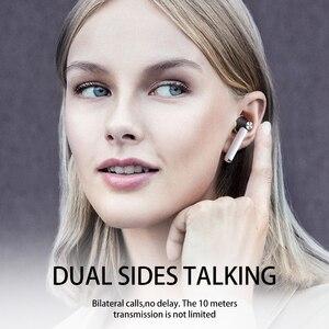 Image 4 - D019 V 5,0 Bluetooth Kopfhörer HD Stereo Drahtlose Kopfhörer Sport Bass Headset Mit Led Power Display Ladegerät Fall Für Alle telefon