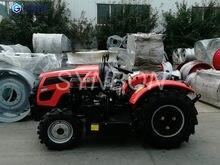SYNBON nowy 50HP sadowniczy ciągnik rolniczy ciągnik hydrauliczny wielokrotne narzędzia pomocnicze maszyny rolnicze SY504G