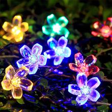 Gorące towary w lampie Jianghu LED z kwiatem wiśni lampka na baterię string 20 lampa ślubna tanie tanio NoEnName_Null Żarówki LED 360° Natura biały (3500-5500 k) Nieregularny Żarówka bańka 500-999 lumenów Garden