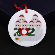 Christmas-Pendant-Accessories Snowman Gifts New-Year DIY Hot-Selling