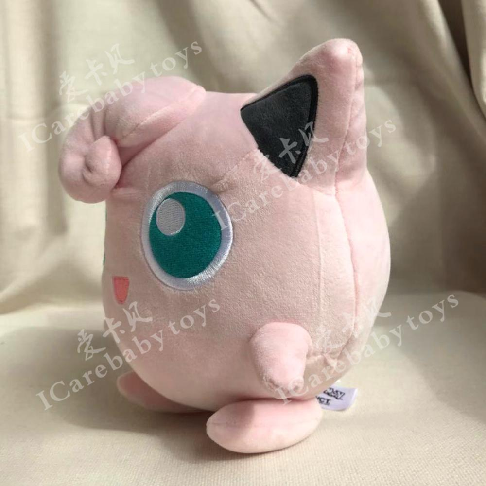 Jigglypuff Plush Toy Animal Cartoon Gift For Kids Collection Big Size 18cm Anime Baby Dolls Brinquedos Juguetes Pink