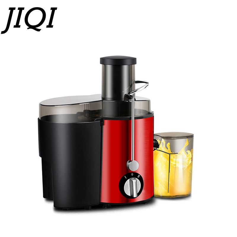 JIQI Stainless Steel Electric Juicer Fruit Juice Extractor Home Exprimidor Vegetable Blender Machine Food Processor 500ML