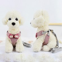 Cat Dog Harness and Leash Set Nylon Mesh Pet Puppy Lead Collar Clothes Vest For Small Kitten Supplies