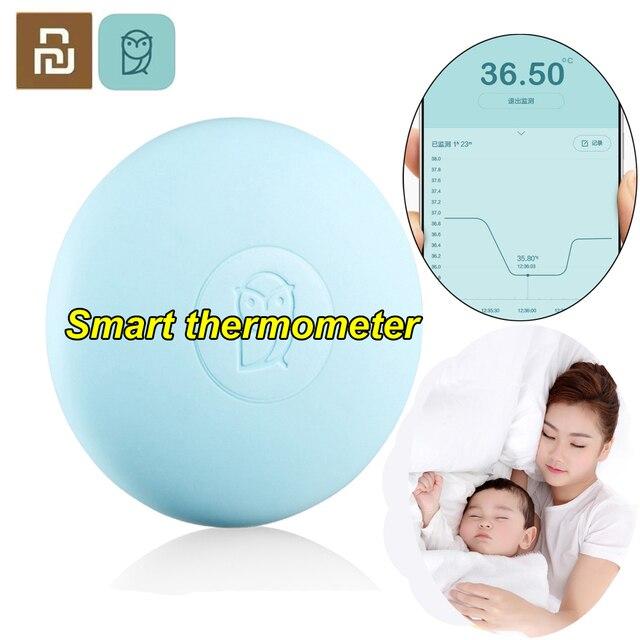 Youpin Miaomiaoce akıllı termometre dijital bebek klinik termometre Accrate ölçüm sabit monitör yüksek sıcaklık alarmı