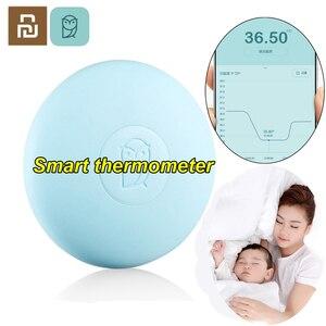 Image 1 - Умный термометр Youpin Miaomiaoce, цифровой детский медицинский термометр, измерение Accrate, постоянное наблюдение, высокотемпературная сигнализация
