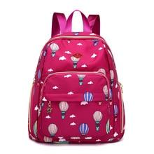 Fashion new pattern Women School Backpacks Nylon Waterproof bags For Teenage Girls Mochila Travel Backpack Bags