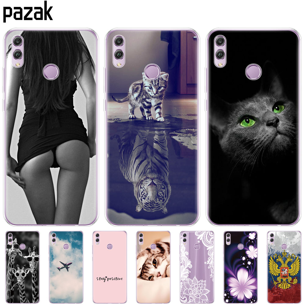 Soft Silicone Case For Huawei Honor 8x Cases 6.5 Inch Soft TPU Back Cover For Huawei Honor 8x Protect Phone Shell Coque Bags