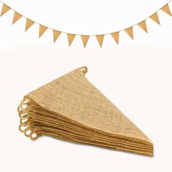 Garland Triangular Jute Flags 1