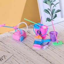 Doll Vacuum-Cleaner Toys Broom-Tools Pretend-Play-Toy Mini Mop for Children Gift Simulation