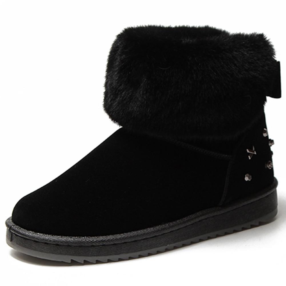 SaraIris Warm Short Plush Ankle Boots