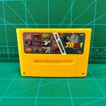 Super 70 ใน 1 EURรุ่นPALชิปSaveนาฬิกาTowerเกมสุดท้ายแฟนตาซีVI Dragon Quest I & II Secret Of Mana Terranigma