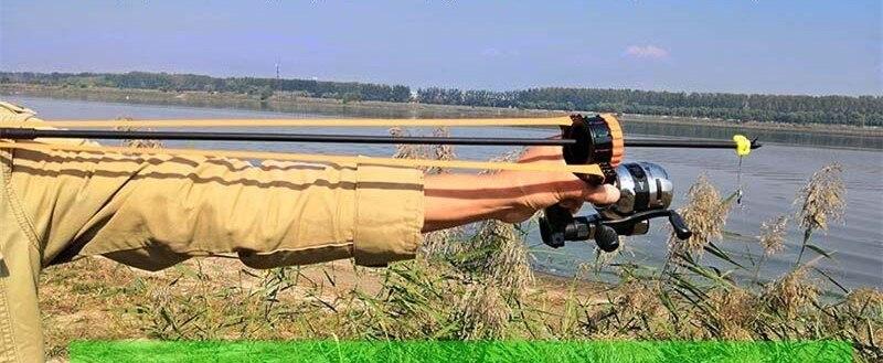 carretel acessórios ferramentas peças pesca estilingue tiro