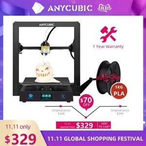 Image 1 - Anycubic I3 Mega Serie Mega X 3D Printer 300*300*305Mm Grote Plus Afdrukken Size Modulaire ontwerp Ultrabase Platform 3D Impressora