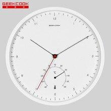 Креативные металлические цифровые настенные часы: ветерок шепот скандинавский минималистический термометр многофункциональные настенные часы оптом
