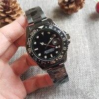 Top luxury brand design męski zegarek kwarcowy zegarek sportowy moda męska luźny zegarek na