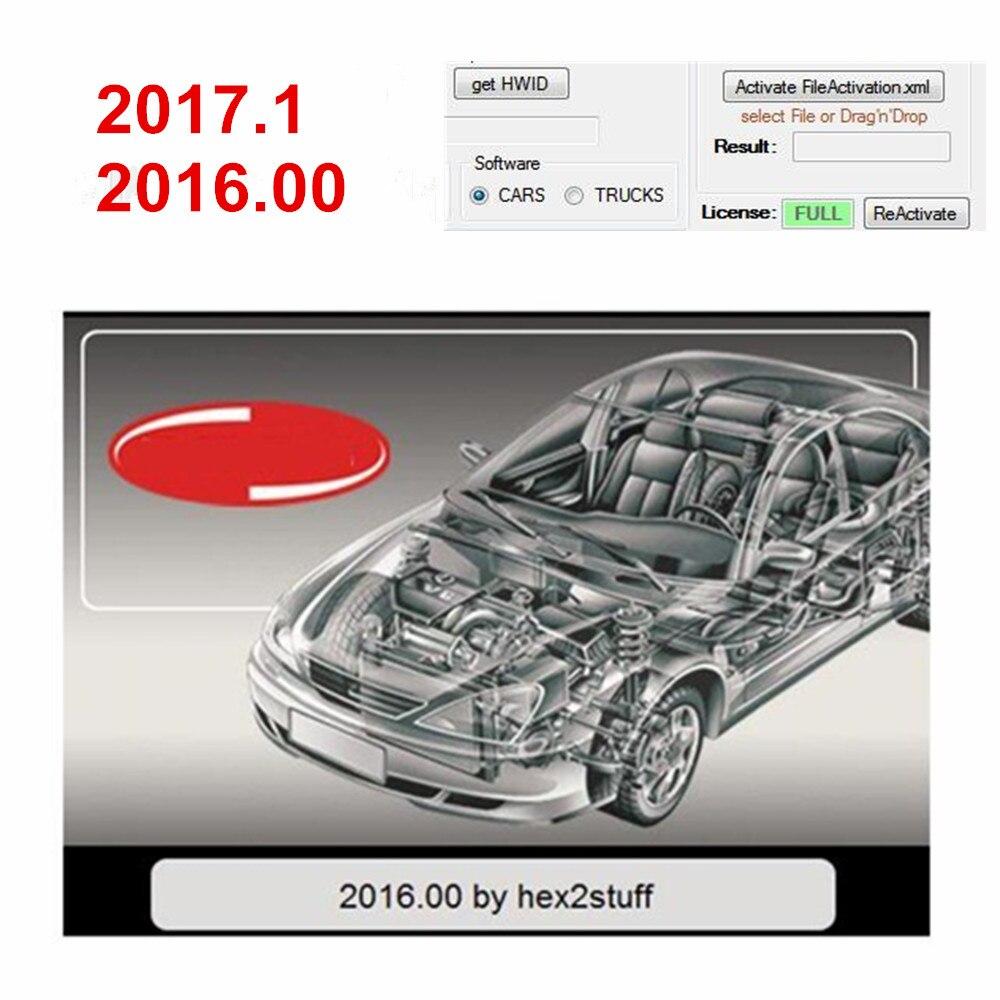 Neueste SW 2017,1 2016,00 Freies Keygen Für TCS Pro Multidiag MVD 2016.R0 2017.R1 Auto Lkw Diagnose Scanner