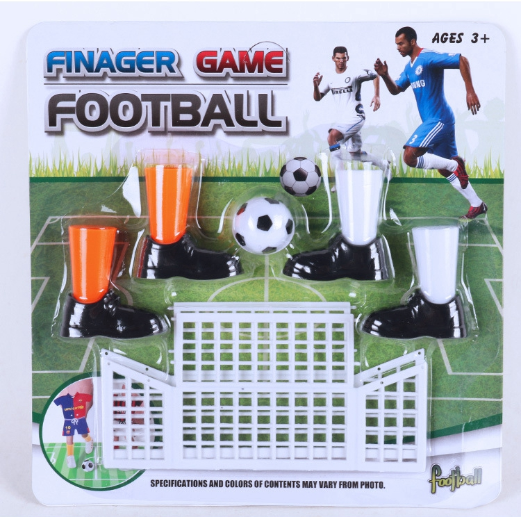 Mini football parent-child two-player game finger toy football game fun board game set with two goals image