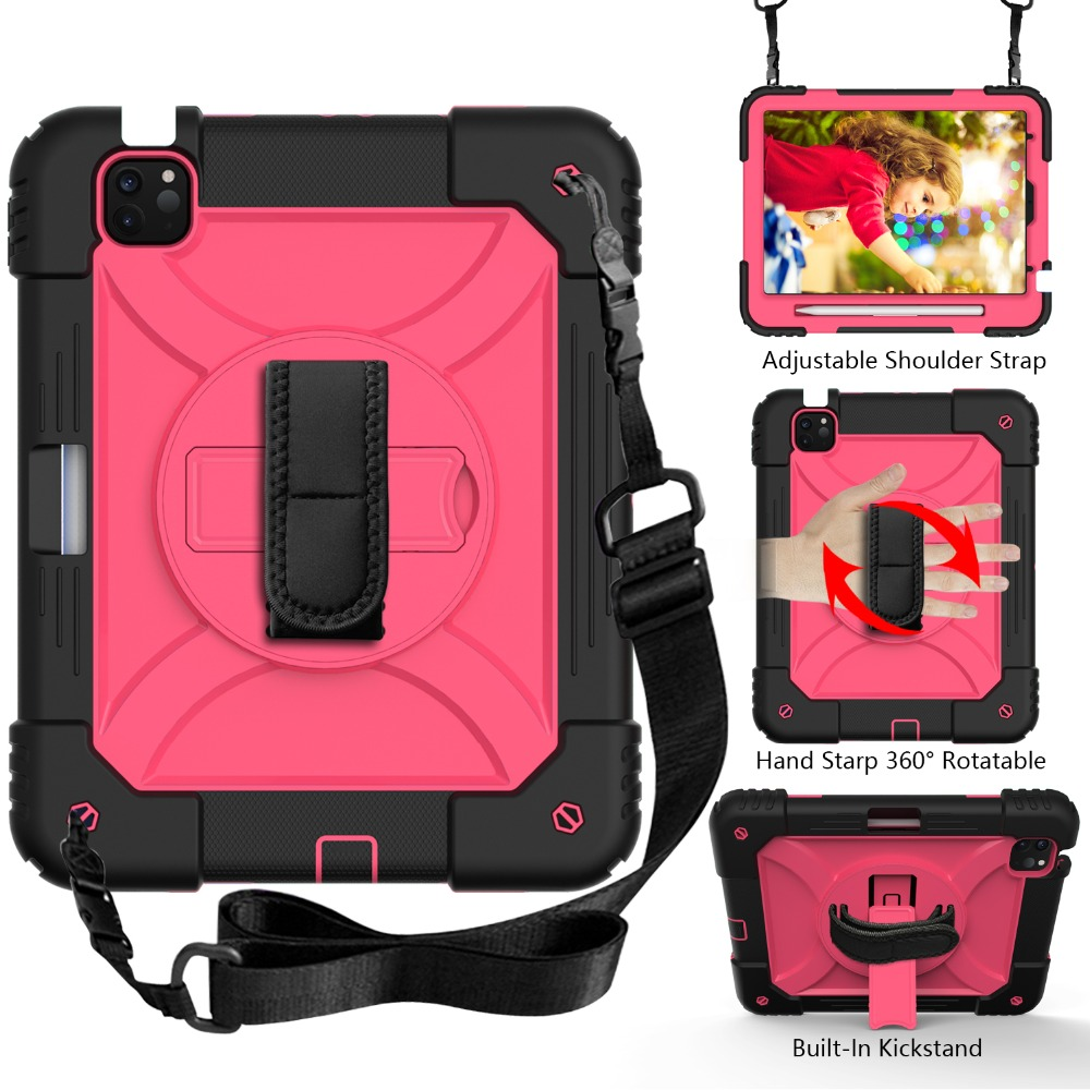 For iPad Case Layers Air for Shockproof 10.9 4 Tablet Kids Hybird Armor iPad 3 2020 Case
