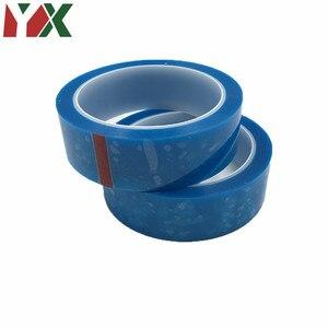 2PCS 25mmx50M PET Blue Refrige