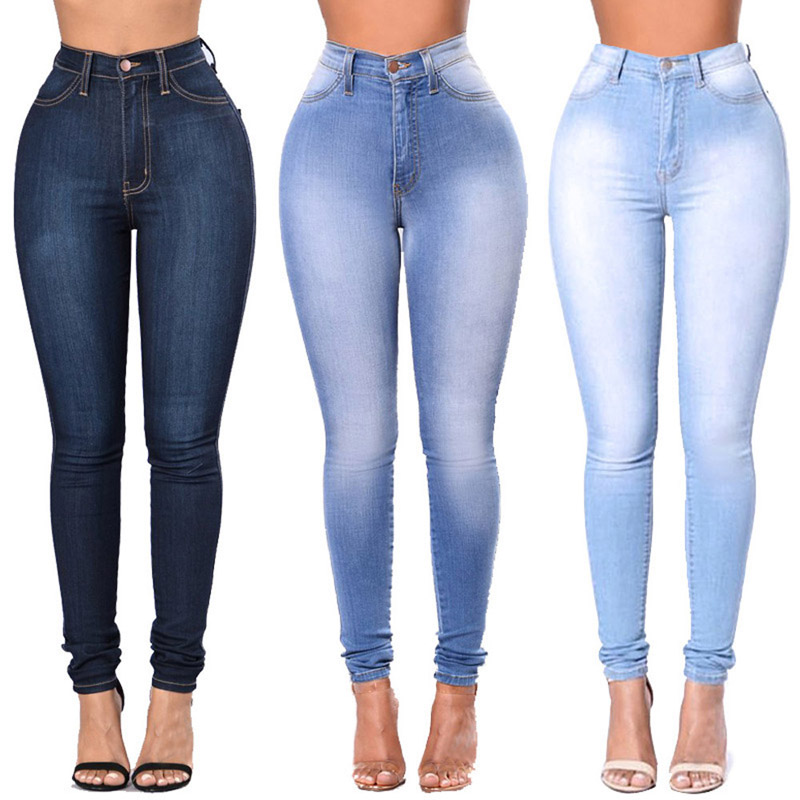 High Waist Jeans For Women Cotton Jeans Boyfriend Juniors Jeans Stretch Skinny Denim Pants FASHION For Women Jeans Casual Wear