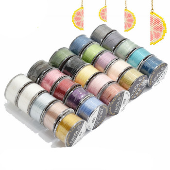 MIyuki 100% Nylon Thread Beaded Jewelry Braided Diy Accessories 46m Bead - discount item  15% OFF Jewelry Making