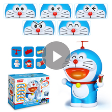 פנים שינוי בובת יפן דורימון דגם צעצוע רועד חלום כיס פעולה איור ילד צעצועי פעולה & צעצוע דמויות
