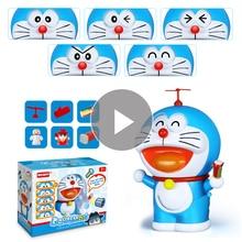 Zmiana twarzy lalka japonia Doraemon zabawkowy Model drżenie wymarzona kieszeń figurka zabawki dla dzieci akcja i figurki do zabawy