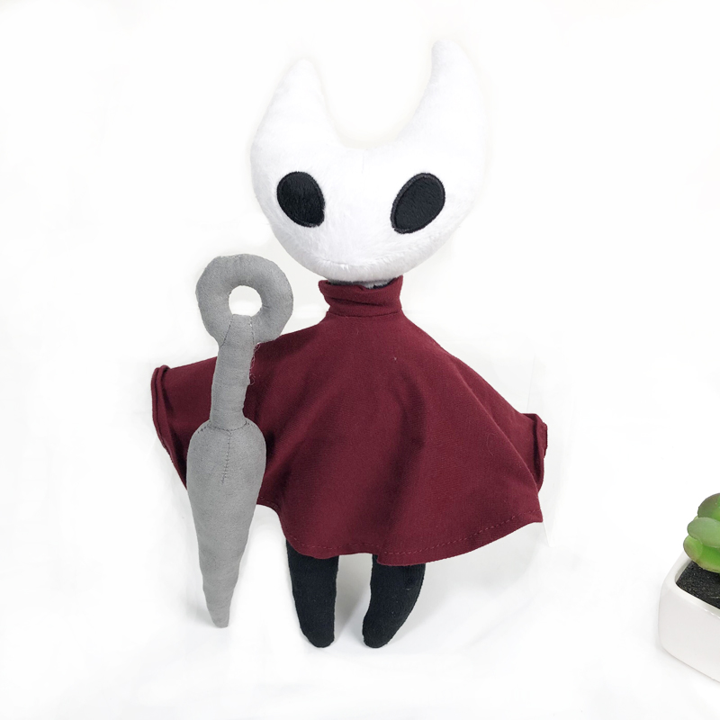Hollow Knight Plush Toys Figure Ghost Stuffed Animals Doll Kids Toys for Children Birthday Gift 32cm