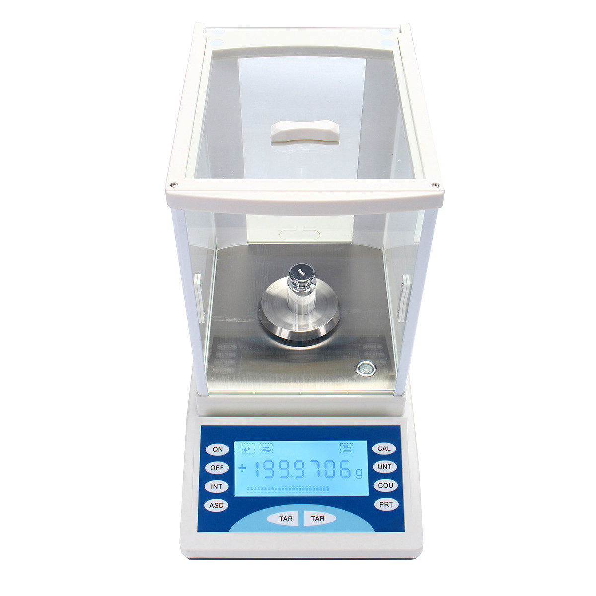 ZEAST 200g/0.1mg Ultra Precision Electronic Balance LCD Digital Electronic Scale Pan Weighing Scale For Lab Measurement Analysis - 5