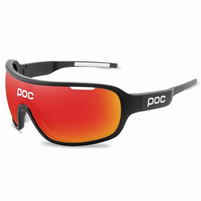 4 lente poc ciclismo óculos de sol ao ar livre óculos de ciclismo 4