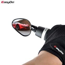 MTB зеркало велосипед заднего вида Бар Конец зрения отражатель регулируемое Левое зеркало для электрического скутера шоссейного велосипеда...