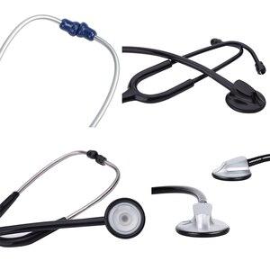 Image 5 - Portable Single Head Stethoscope Professional Cardiology Stethoscope Doctor Medical Equipment Student Vet Nurse Medical Device