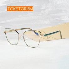 Очки toketorism женские с защитой от синего света Модные оптические