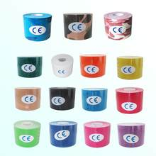 Taping Muscular Kinesiological Tape Therapy Stickers Cotton 3.8cm5m Multi-Color(China)