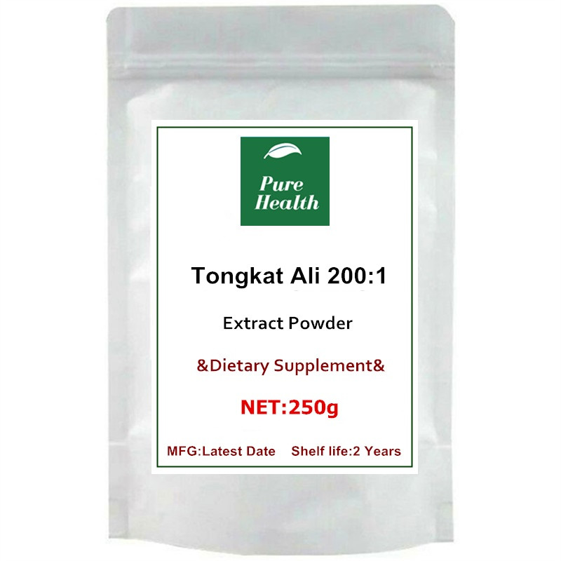 Tongkat Ali Root Extract ( 200:1 ) Powder, Eurycoma Longifolia Pure| | - AliExpress