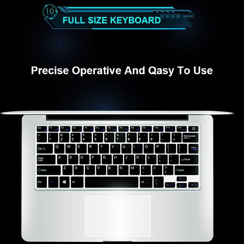 Ноутбук 15,6 дюймов 8G Оперативная память 128G 256G 512G 1 ТБ SSD Встроенная память Тетрадь компьютер intel Core Quad Windows 10 и ультратонких ноутбуках, для студентов, для офиса
