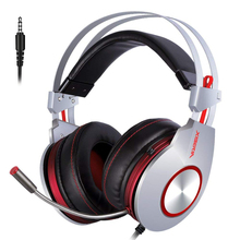 Headset Gaming Headphones with Mic Stereo Sound Heavy Bass Gamer Headset for PC Gamer PS4/Phone felyby b3506 wireless bluetooth headphones headset foldable gaming headset v4 1 with mic for ps4 pc mac smartphones computers