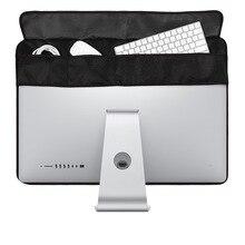 Мягкий чехол из ткани Оксфорд для Apple Imac 27/21, 5 дюймов, настольный компьютер, пылезащитный чехол для монитора, защитный чехол для компьютера
