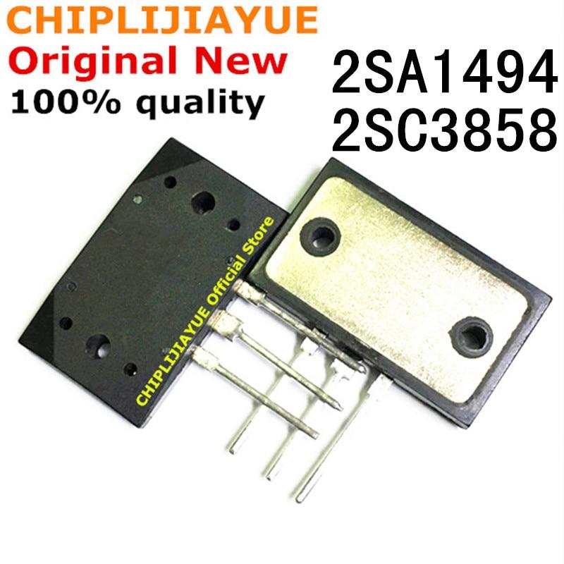 2 шт. 1 пара, новый и оригинальный чипсет IC 2SA1494 2SC3858 A1494 C3858