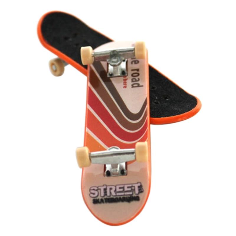 Kid Toy Gift Printing Professional Alloy Stand Fingerboard Skateboard Finger Boards Skate Truck Finger Skateboard