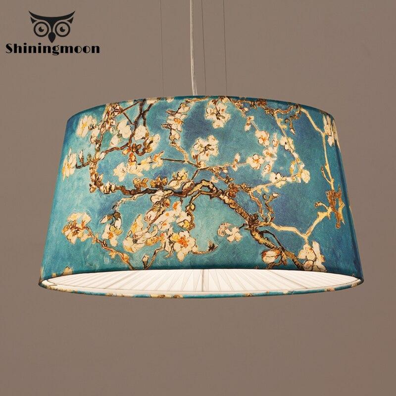 Chinese Classical Traditional Fabric Pendant Lights Kitchen Pendant Lamp Hanging Modern Restaurant Bar Deco Hanglamp Luminaria