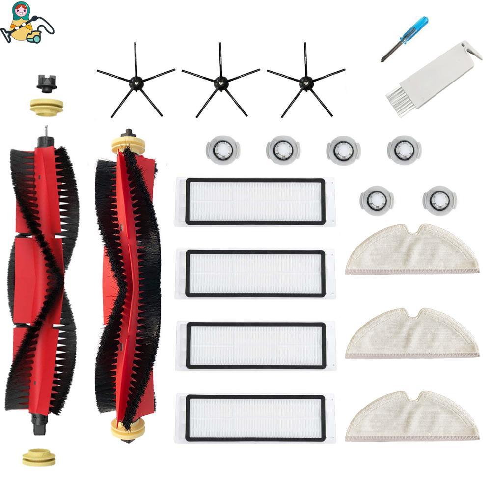 Original Roborock Robot Vacuum Cleaner S50 S5 Accessories Parts Filter Brush Mop