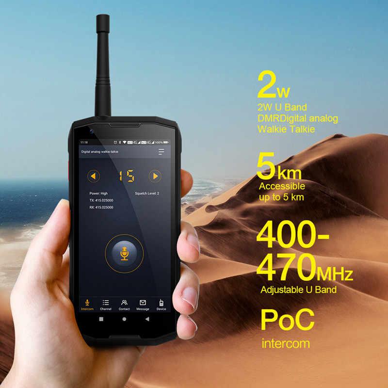 """Conquête S12 Pro téléphone portable extérieur P70 Android 9.0 8000mAh IP68 étanche 5.99 """"FHD NFC DMR talkie-walkie robuste Smartphone"""